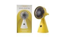 VITAMMY dream desk fan żółty